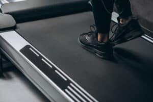 female legs running track gym 1303 22553